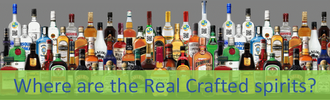 Can you spot the real craft spirits?