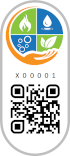 RealCraft Label with QR code